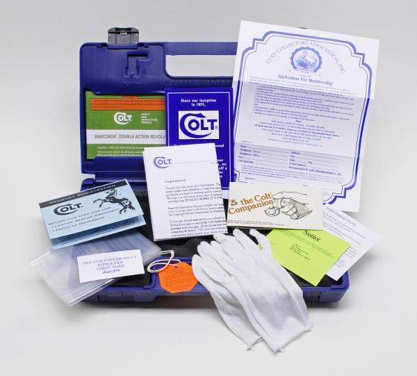 Colt Anaconda Box, OEM Case With 1993 Manual, Paperwork, Plus Added Bonus