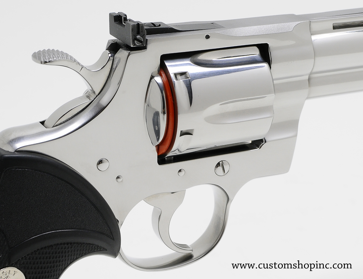 colt python  357 mag 8 u0026quot  bright stainless steel finish