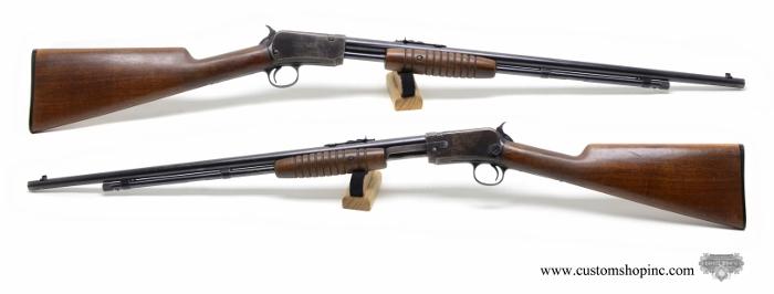 winchester model 62 22 lr pump rifle custom shop