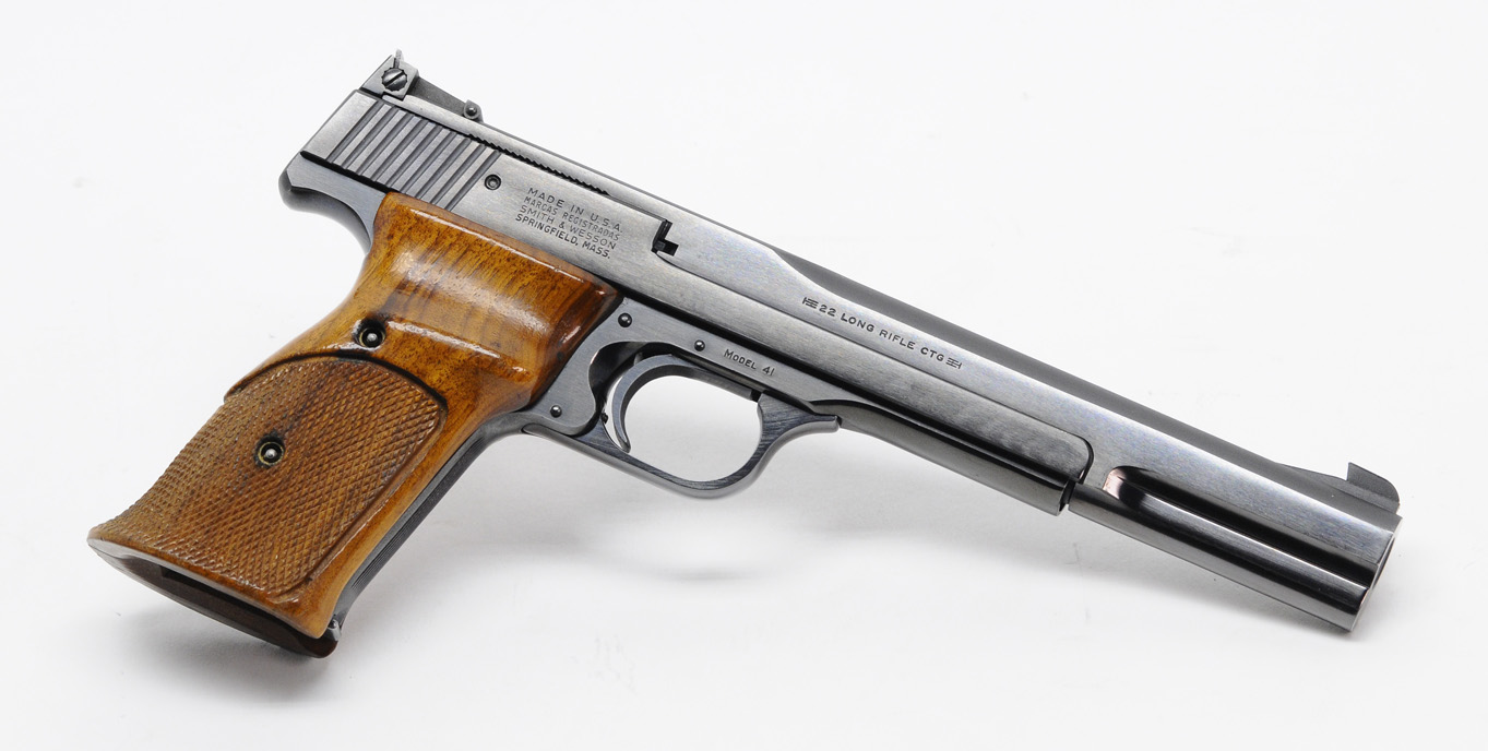 smith wesson model 41 rimfire pistol 22lr 7 inch excellent rh customshopinc com