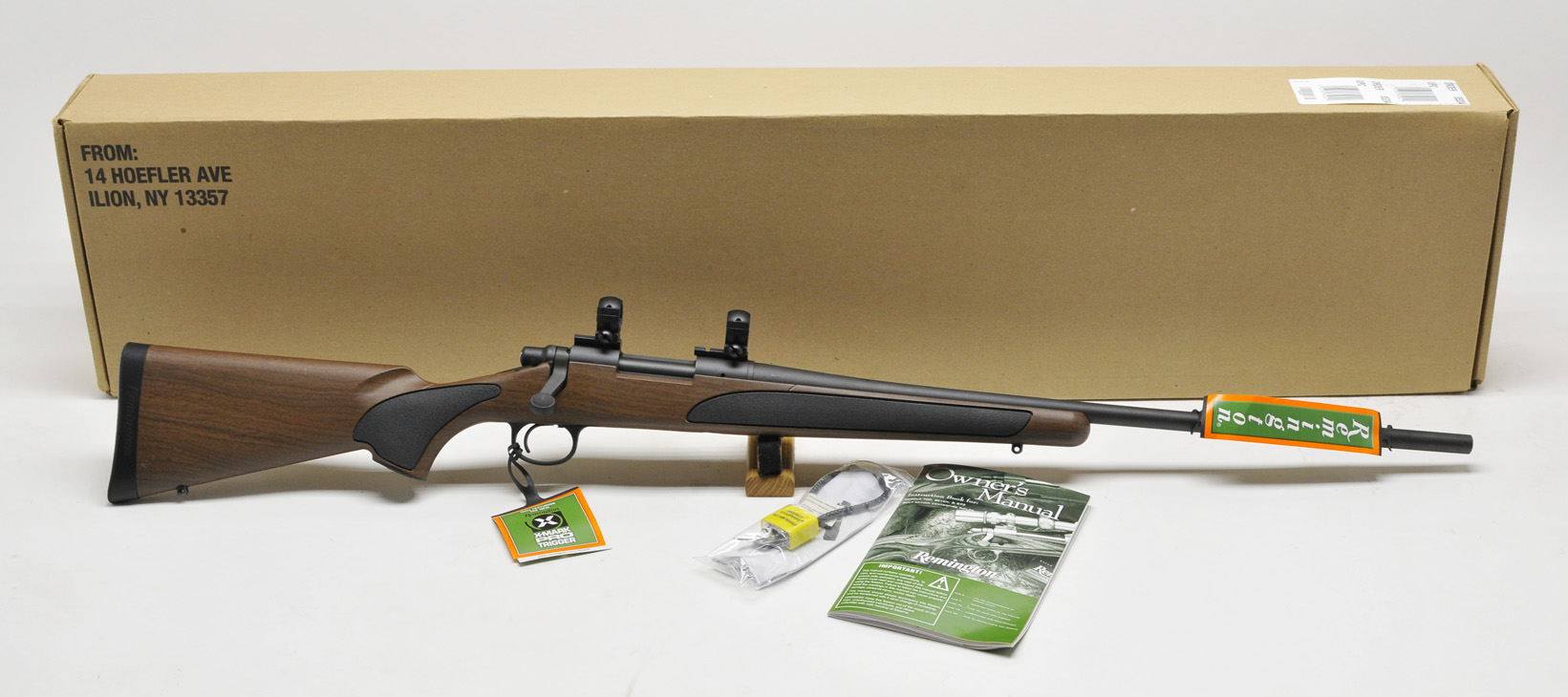 Remington 700 ADL  243 Win  Wood Tech  Like New In Box
