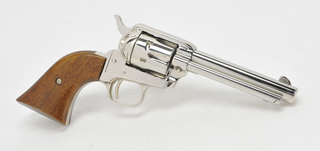 Colt Single Action Army Frontier Scout  22LR & Extra 22 Mag  Cylinder   Nickel  In factory Box  DOM 1968