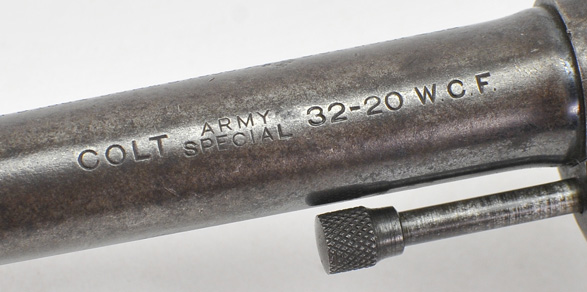 Colt Army Special  32-20 wcf  6 Inch  DOM 1917  Good