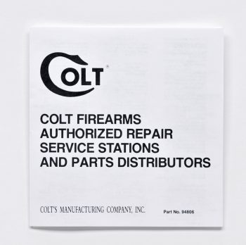 colt repair stations custom shop inc