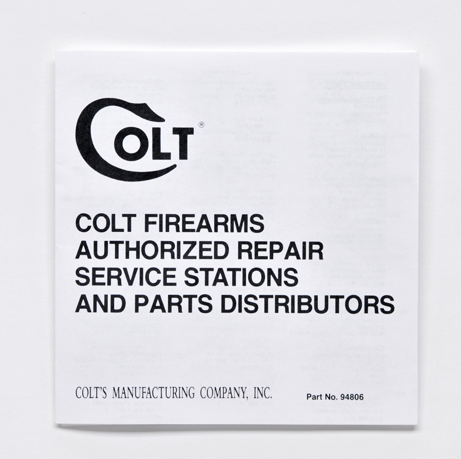 colt repair stations custom shop inc