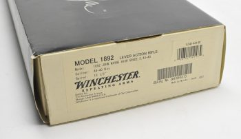 winchester john wayne 1892 custom shop inc