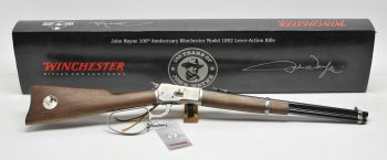 winchester john wayne 1892 custom shop inc