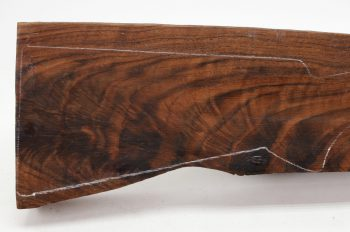 claro walnut gun stock blank