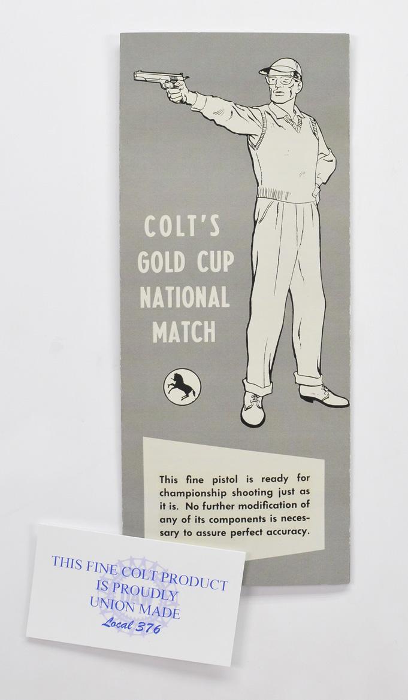 colt gold cup manual