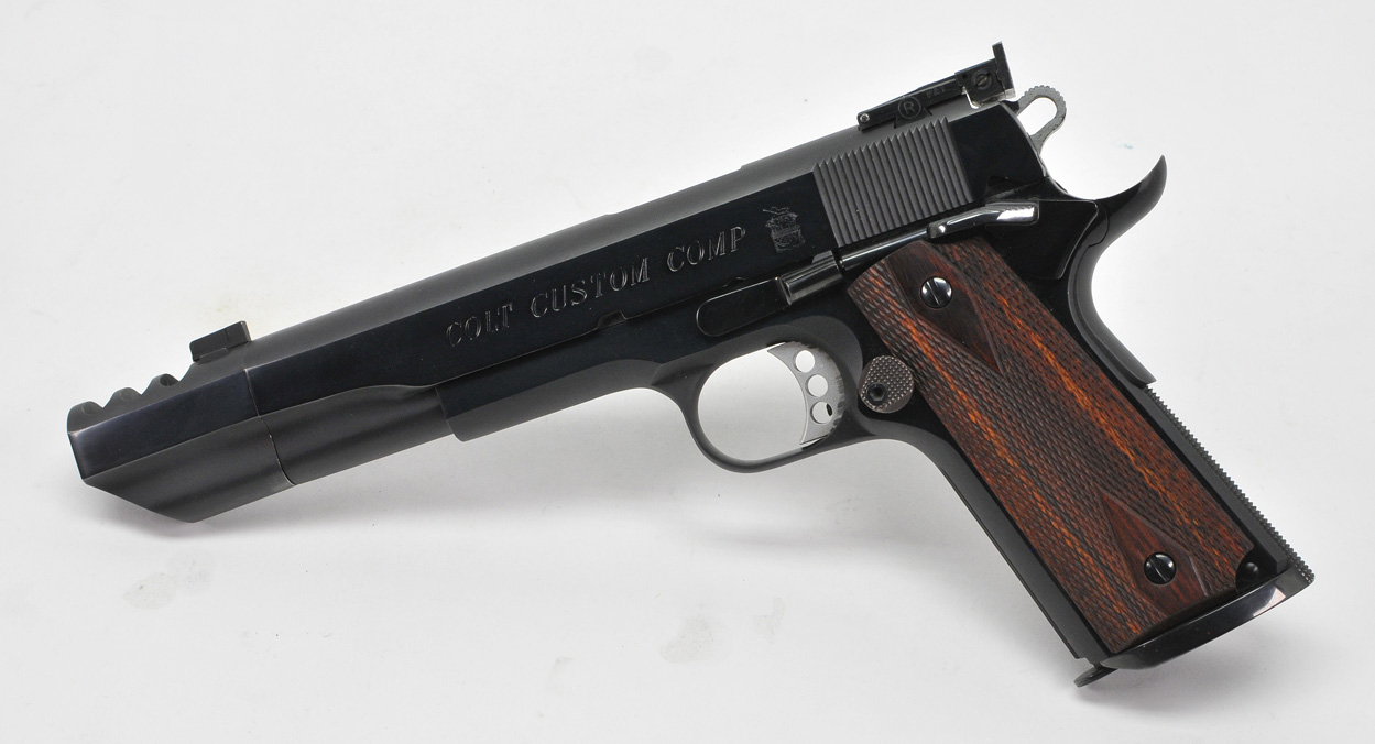 Colt Custom Competition 1911 With Compensator  Government Model  45 ACP   Model 01970DB  With Extra Magazine, Original Paperwork & Boxes