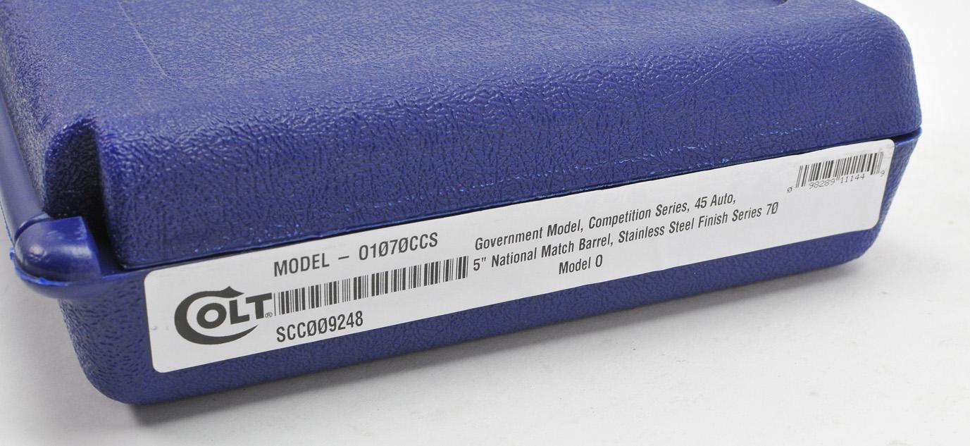 COLT MODEL 01070CCS