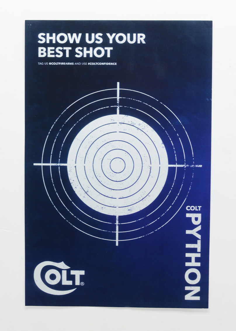 Colt 2020 Python Target