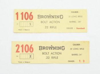 Browning Belgium T-Bolt Box