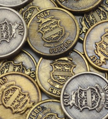 Colt Custom Shop Medallions