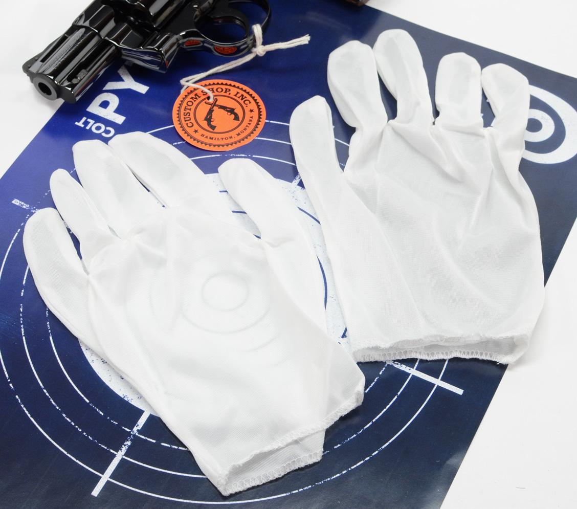 White Inspection Gloves