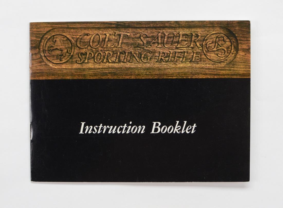 Colt Sauer Manual