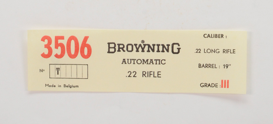 Browning Belgium Automatic