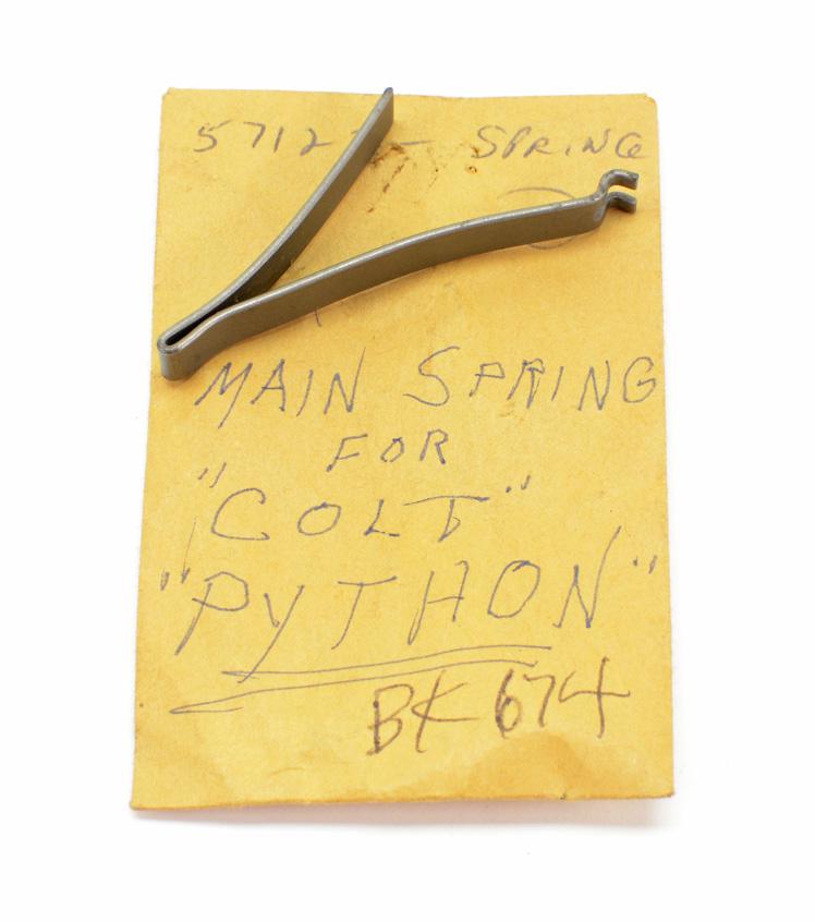 Colt Python Main Spring