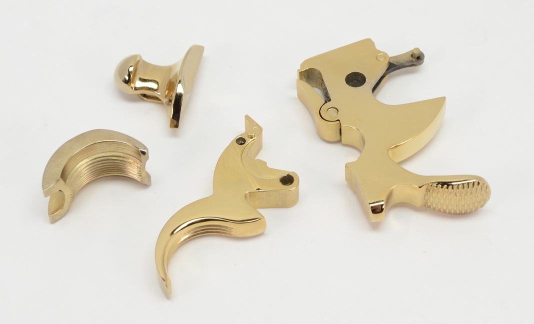 Colt Python Gold Plated Parts Kit