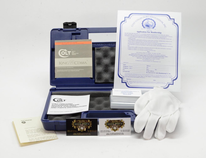 Colt King Cobra 1986 Package