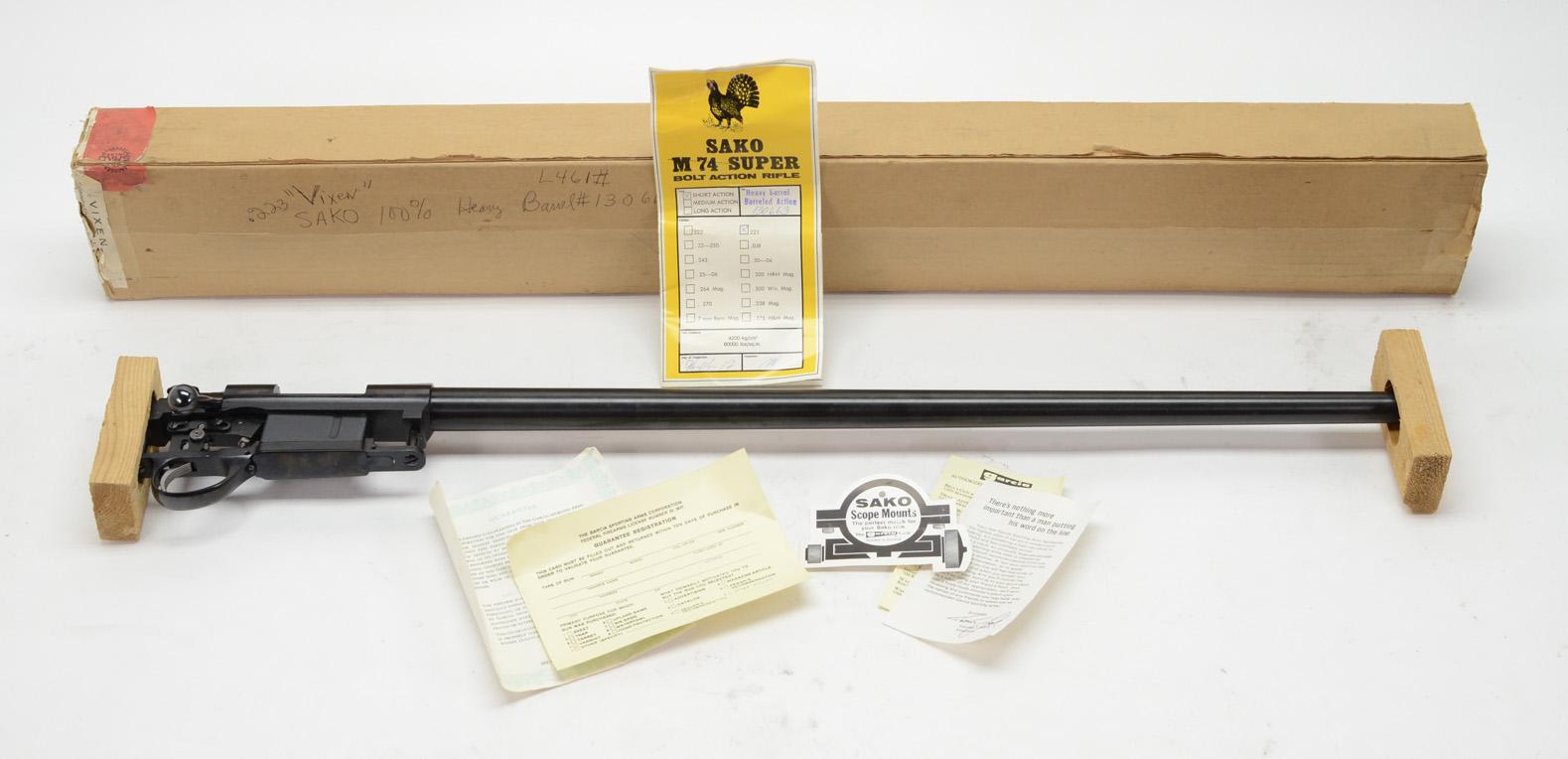 Sako M74 Super Vixen .223 Rem