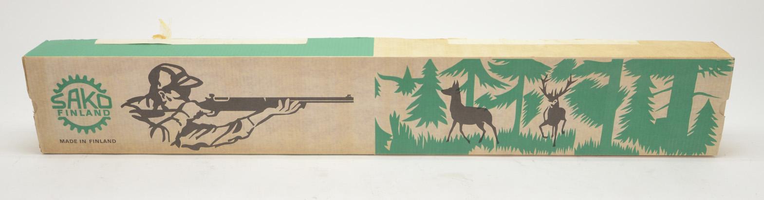 Sako Vintage Pre-Import Box