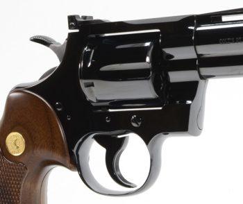 Colt Python 4 Inch Blue